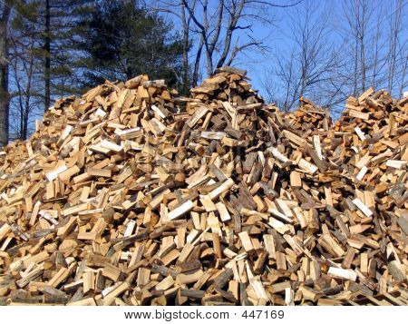 Cut Fire Wood