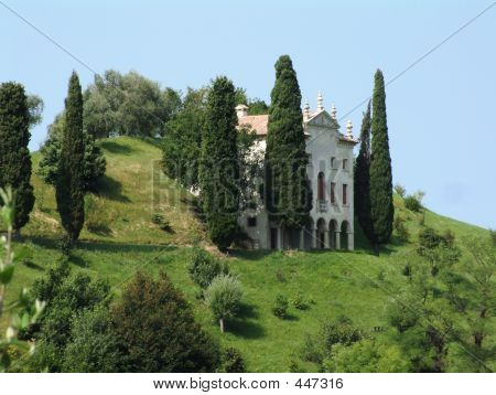 Italian Villa On Hill