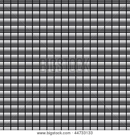 Seamless pattern with chrome buttons