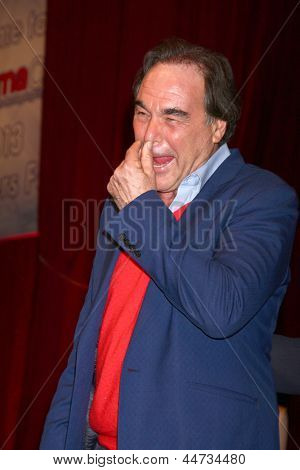 LAS VEGAS - APR 17:  Oliver Stone at the CinemaCon Filmmaker's Luncheon at the Caesars Palace on April 17, 2013 in Las Vegas, NV