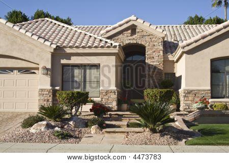 Modern Adobe Home