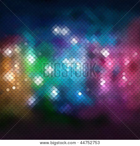Abstract mozaic vector background