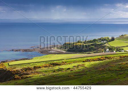 landscape near Helmsdale, Highlands, Scotland