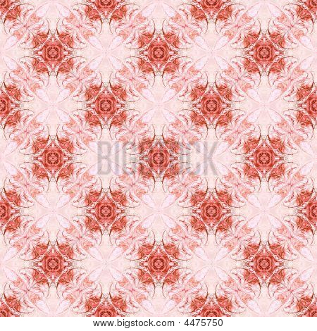 Intricate Red Seamless Abstract