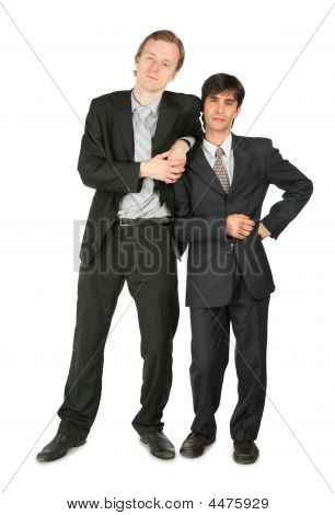 Two Businessmen Stands