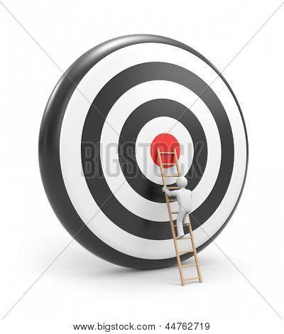 Toward the target