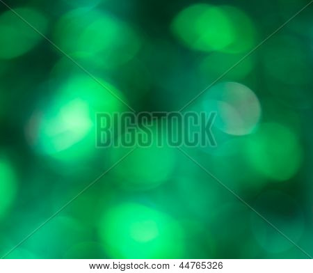 Beautiful boker ights on the green background