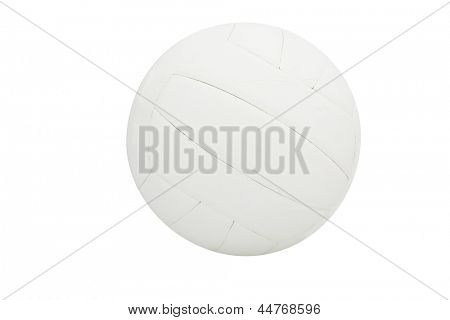 The image of ball  isolated under the white background