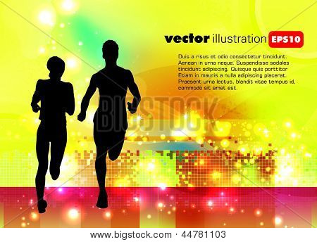 Ilustración de vector de deporte