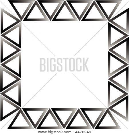 White Borders Black Background Black And White Border Frame