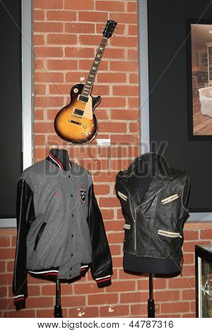 BEVERLY HILLS - NOV 26: Ozzy Osbourne, Sharon Osbourne personal items at a preview of their Osbourne Memorabilia auction at the Gibson Guitar Showroom November 26, 2007 in Beverly Hills, California