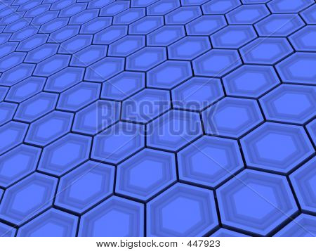 Hexagonal Tile Pattern