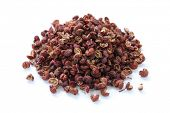 stock photo of peppercorns  - sichuan pepper - JPG
