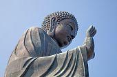 foto of lantau island  - Giant Buddha complex on the Lantau island  - JPG