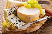 image of cheese platter  - cheese plate - JPG