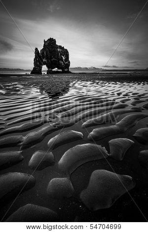 Hvitserkur in Iceland