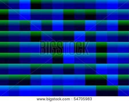 Abstract Blue And Green Squares Background