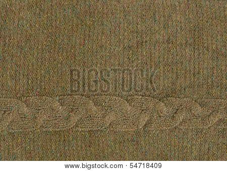Texture Angora Knit Sweater With Lurex Thread