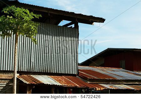 Galvanized Sheet House