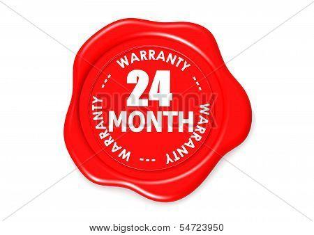 Twenty four month warranty seal
