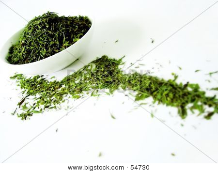 Herbs In A Bowl