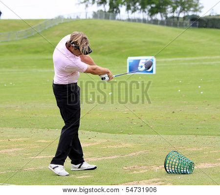 Victor Dubuisson at the Golf French Open 2013