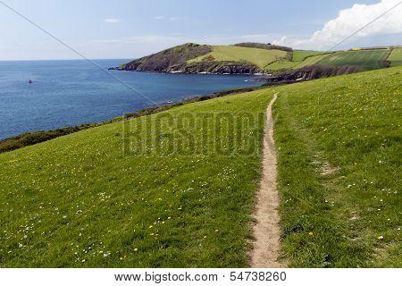 The Cornish Coastal Footpath