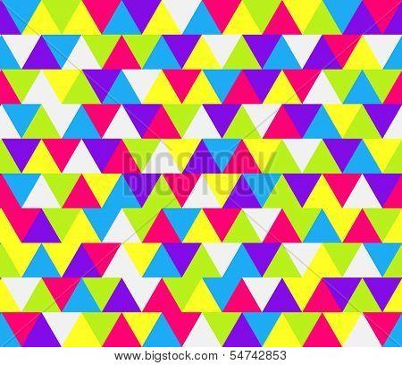 Mosaic Triangle Pattern