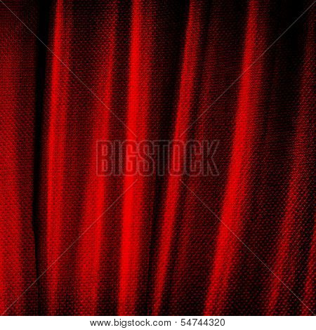 red sailcloth fabric