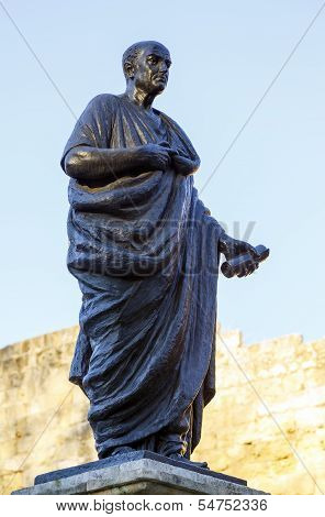 Lucius Annaeus Seneca, Known As Seneca The Younger, Cordoba, Spain