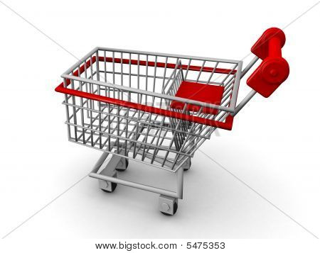 Shopping Cart Ecommerce Concept