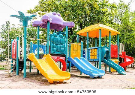 Colorful Playground Equipment