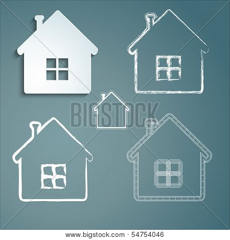 Set Of Buildings