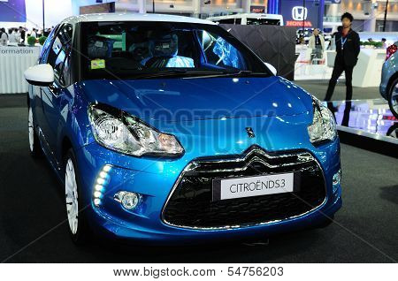 Bkk - Nov 28: The Citroen Ds3 On Display At Thailand International Motor Expo 2013 On Nov 28, 2013 I