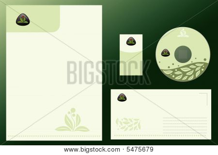 Natural Corporate Vector Business Template