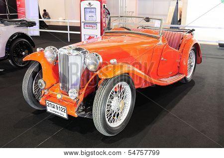 Bkk - Nov 28: Mb Tb, Vintage Convertible Car, On Display At Thailand International Motor Expo 2013 O
