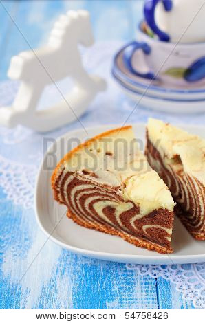 Pieces Of Zebra Cake