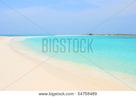 Tropical beach, Venezuela