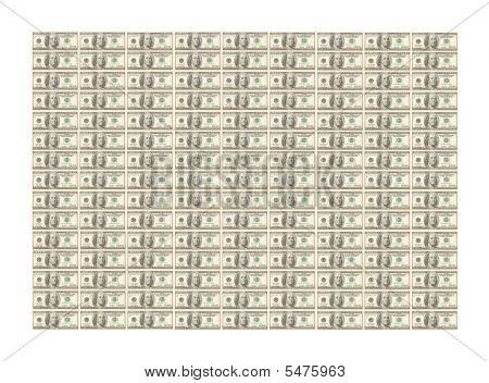 Lots Of Hundred Dollar Bills