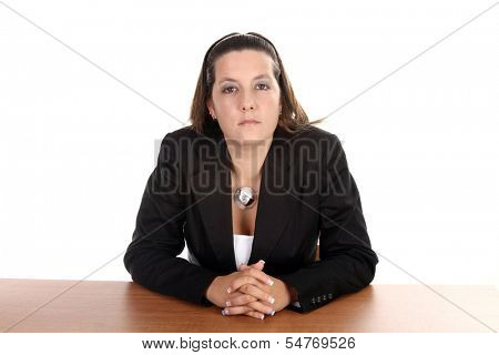 sexy sucessefully businesswoman, business financial photo