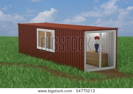 Container Converted into Home