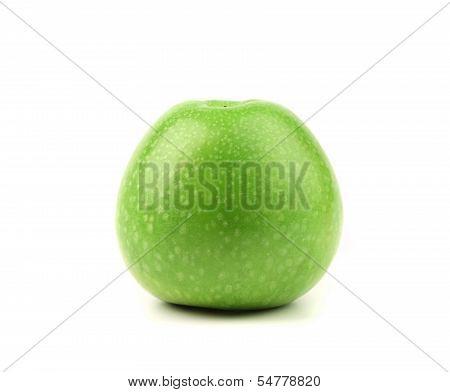 Granny Smith variety of apple.