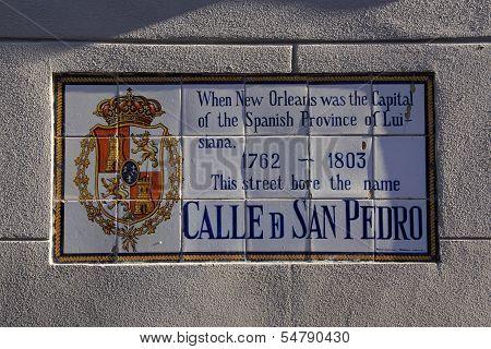 Calle de San Pedro