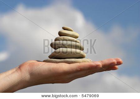 Ausgleich der Steine