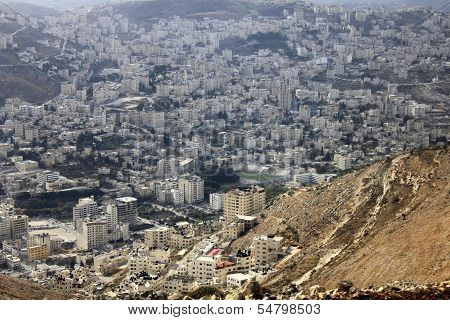 Nablus, the Biblical City of Shechem