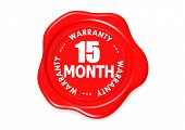 Fifteen month warranty seal