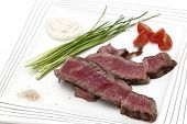 picture of wagyu  - Grilled wagyu rump steak - JPG