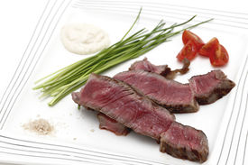 stock photo of wagyu  - Grilled wagyu rump steak - JPG