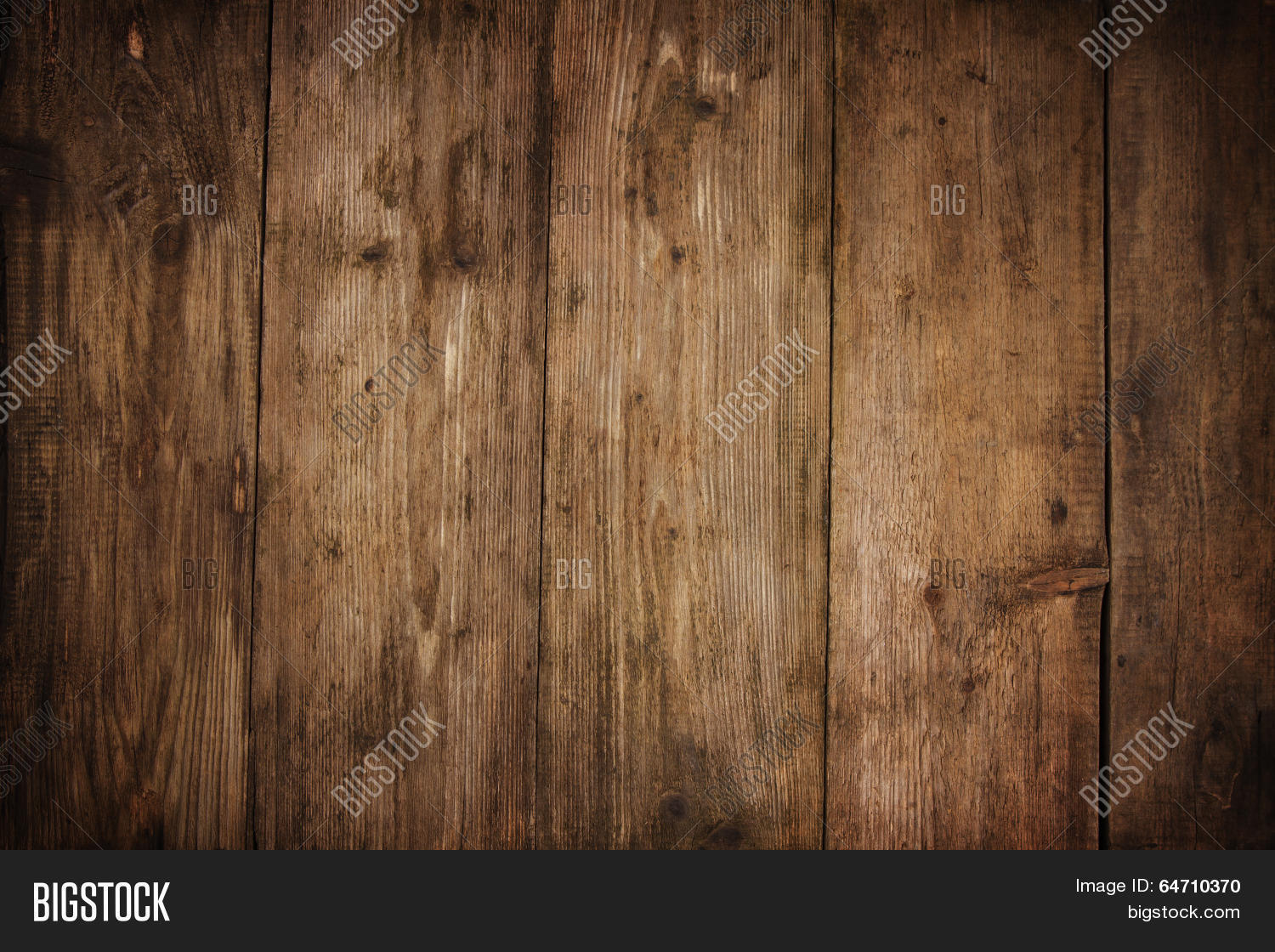 Wood Texture Plank Grain Background, Wooden Desk Table Or Floor, Old ...