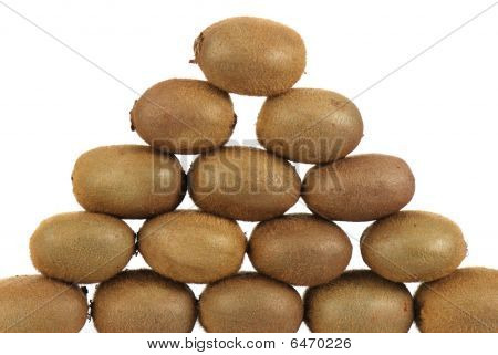 pyramid of kiwis